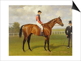 Persimmon, Winner of the 1896 Derby Art by Emil Adam