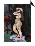 Nude Brushing Her Hair, C. 1916 Posters par Suzanne Valadon