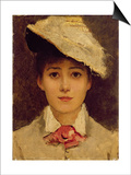 Self-Portrait, 1877 Poster by Louise Jopling