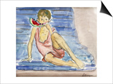 The Artist's Son; Le Fils De L'Artiste Prints by Henri Lebasque