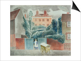 Baker's Cart Prints by Eric Ravilious