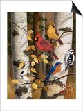 Autumn Friends Posters af William Vanderdasson