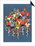 Gruppetto, 2014 Posters by Eliza Southwood