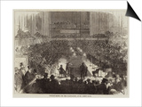 Billiard-Match for the Championship, at St James's Hall Prints