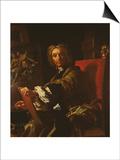 Self Portrait, 1730-31 Poster by Francesco Solimena
