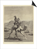 The Post of the Desert Prints by Emile Jean Horace Vernet