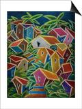 Barrio Lindo Posters by Oscar Ortiz
