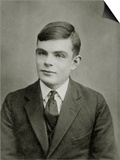 Portrait of Alan Mathison Turing Prints