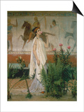 Greek Woman Posters by Sir Lawrence Alma-Tadema