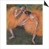 Two Dancers, C. 1898 Print by Edgar Degas