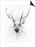 Stag Prints by Alexis Marcou