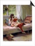 Good Friends, 1881 Posters by Albert Gustaf Aristides Edelfelt