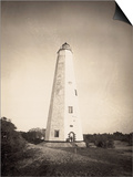 Lighthouse on Cape Fear Posters