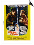 Cape Fear, Gregory Peck, Polly Bergen, Lori Martin, Robert Mitchum, 1962 Posters