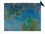 Wisteria, C. 1925 Art by Claude Monet