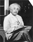 Physicist Albert Einstein Print