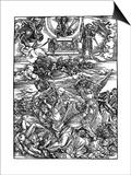 The Four Vengeful Angels, 1498 Affiches par Albrecht Durer