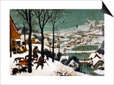 Hunters in the Snow (Winte), 1565 Print by Pieter Bruegel the Elder