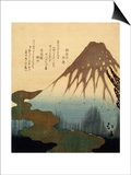 The Mount Fuji, 19th Century Posters by Totoya Hokkei