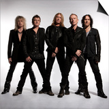 Def Leppard - Mirrorball Tour Photo Shoot 2011 Poster by  Epic Rights