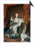 Louis XV at the Age of Five, C1715 Posters by Hyacinthe Rigaud