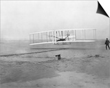 Wright Brothers' First Flight Art