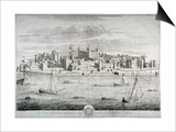 Tower of London, C1700 Prints by Johannes Kip