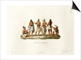 Natives of the Island of Rotuma Print by Ambroise Tardieu