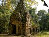Cambodia, Angkor Wat. Small Temple Prints by Matt Freedman