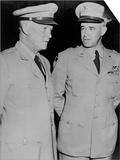 Generals Dwight Eisenhower and Omar Bradley, July 19, 1948 Prints