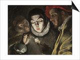 The Fable, C. 1580 Prints by  El Greco