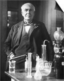 Thomas Edison in His Laboratory Posters