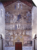 Last Judgment and Apotheosis of Christ, 11th C. Mosaic Poster