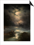 North Sea Storm, 1865 Posters by Ivan Konstantinovich Aivazovsky