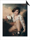 Boy with Rabbit, C1814 Prints by Henry Raeburn