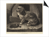 Be it Ever So Humble, There's No Place Like Home Print by Edwin Landseer