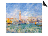 Venice, (The Doge's Palace), 1881 Posters by Pierre-Auguste Renoir