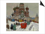 Saint Basil's Cathedral, 1939 Posters