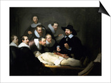 The Anatomy Lesson of Dr Nicolaes Tulp, 1632 Posters by  Rembrandt van Rijn