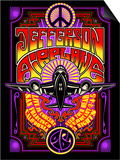 Jefferson Airplane - Fillmore Auditorium 1967 Art by  Epic Rights