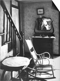 Rocking Chair in House Prints by Walker Evans