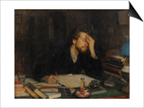 The Torments of Creative Work Art by Leonid Osipovich Pasternak