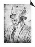 Cardinal Lang Von Wellenburg, 1522 Posters par Albrecht Durer