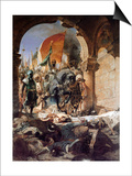 The Entry of Mehmet II into Constantinople, 1876 Posters by Jean Joseph Benjamin Constant
