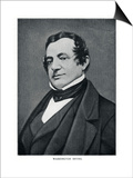 Washington Irving, American Author, 20th Century Posters