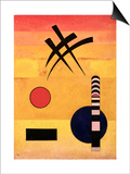 Sign, 1926 Prints by Wassily Kandinsky