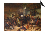 A School for Boys and Girls, C.1670 Posters by Jan Havicksz. Steen
