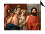 The Anger of Achilles Poster by Jacques Louis David