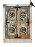 The Evangelical Symbols, 800 Ad Kunstdrucke