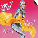 Aerosmith - Just Push Play 2001 Plakat af Epic Rights